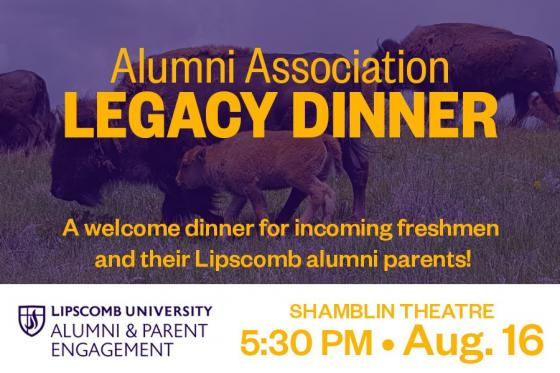 Legacy Dinner