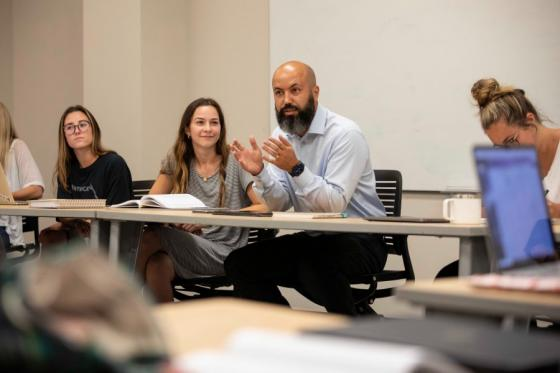 Douglas Ribeiro teaching at Lipscomb