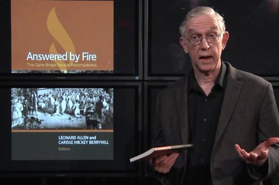 Leonard Allen Answered by Fire