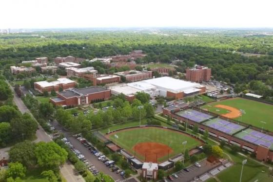 A current view of the Lipscomb campus